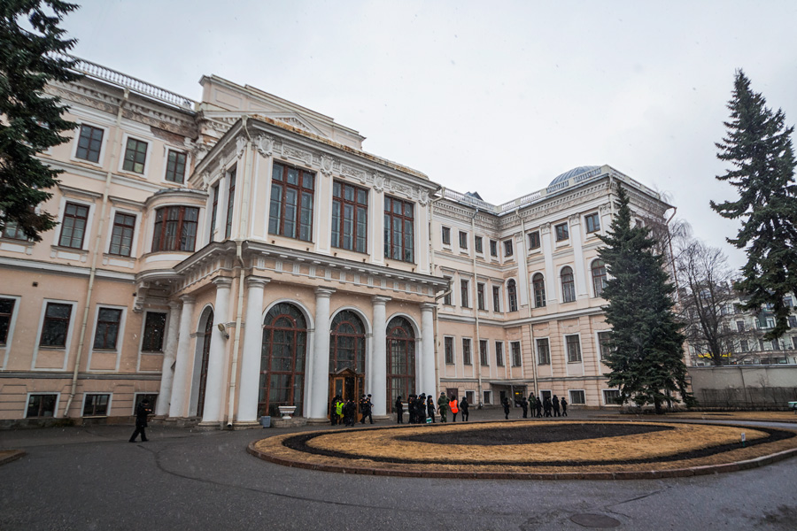 сдержанные аничков дворец фото под обновление