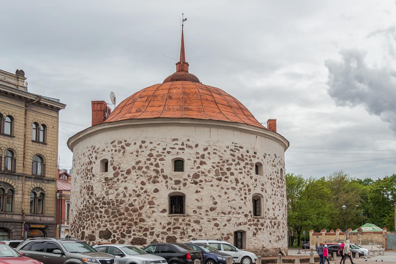 Прозвища Круглой башни в Выборге: Толстая Катерина, Круглая, Карельская, Скотопрогонная и Баранья