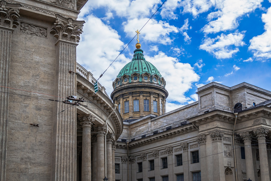 Купол Казанского собора