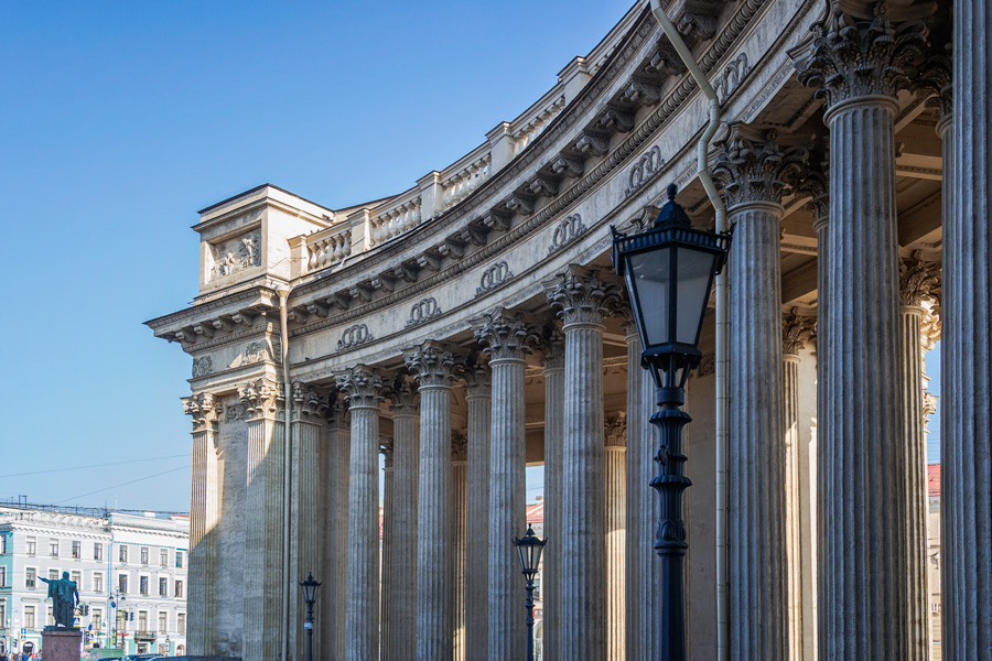 Колоннада Казанского собора