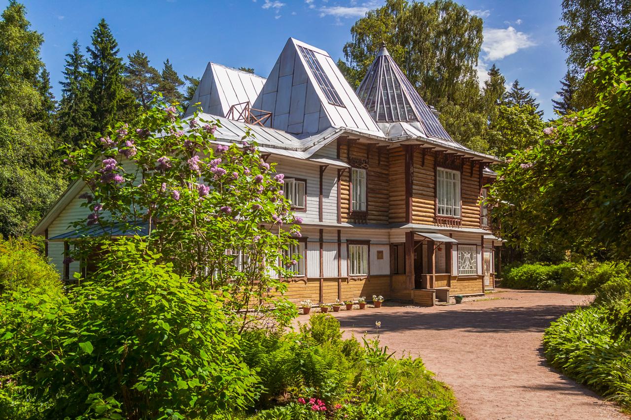 Пенаты Репина. Музей Усадьба в Репино