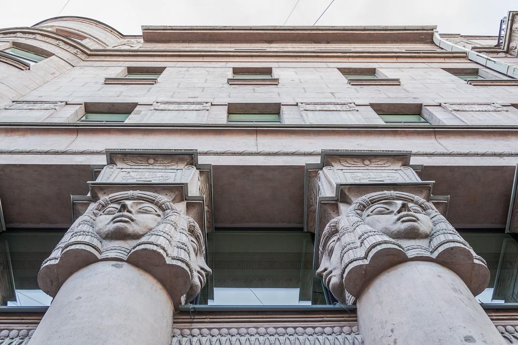 Египетский дом на Захарьевской. Его история, легенды, интересные факты и адрес. Поцелуй вечной любви: alkopona — LiveJournal