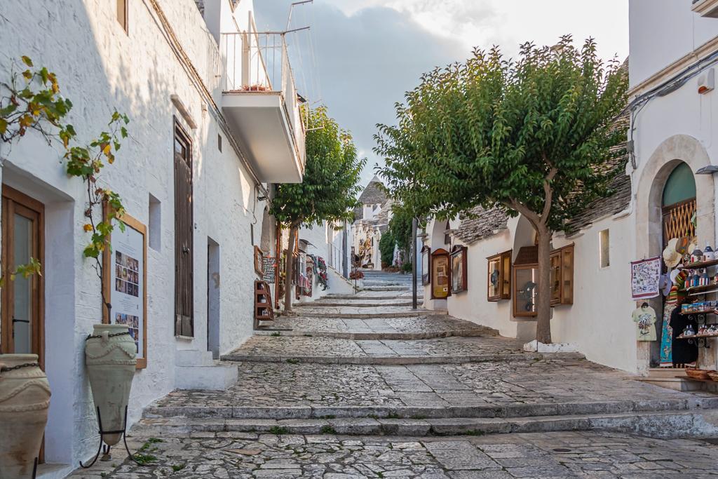 улицы итальянского Альберобелло