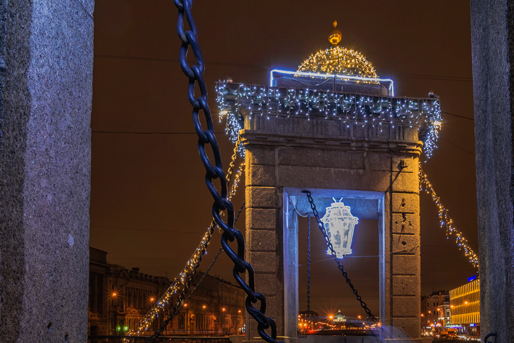Как украсили Петербург на 291 миллион рублей?