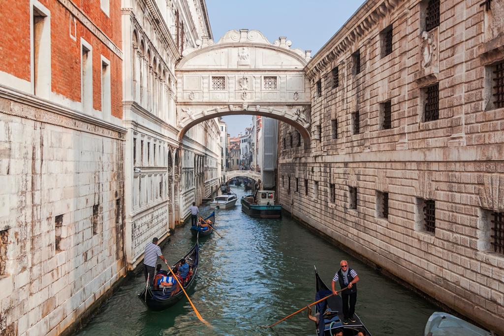 Мост Вздохов в Венеции в хорошем качестве