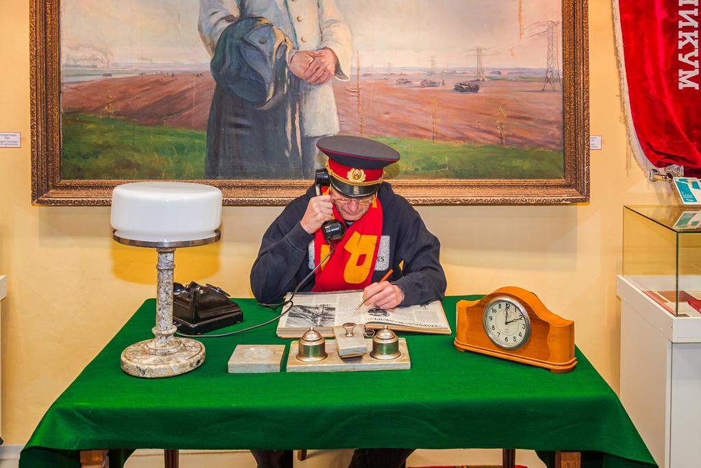 Музей бункер в эстонском Силламяэ