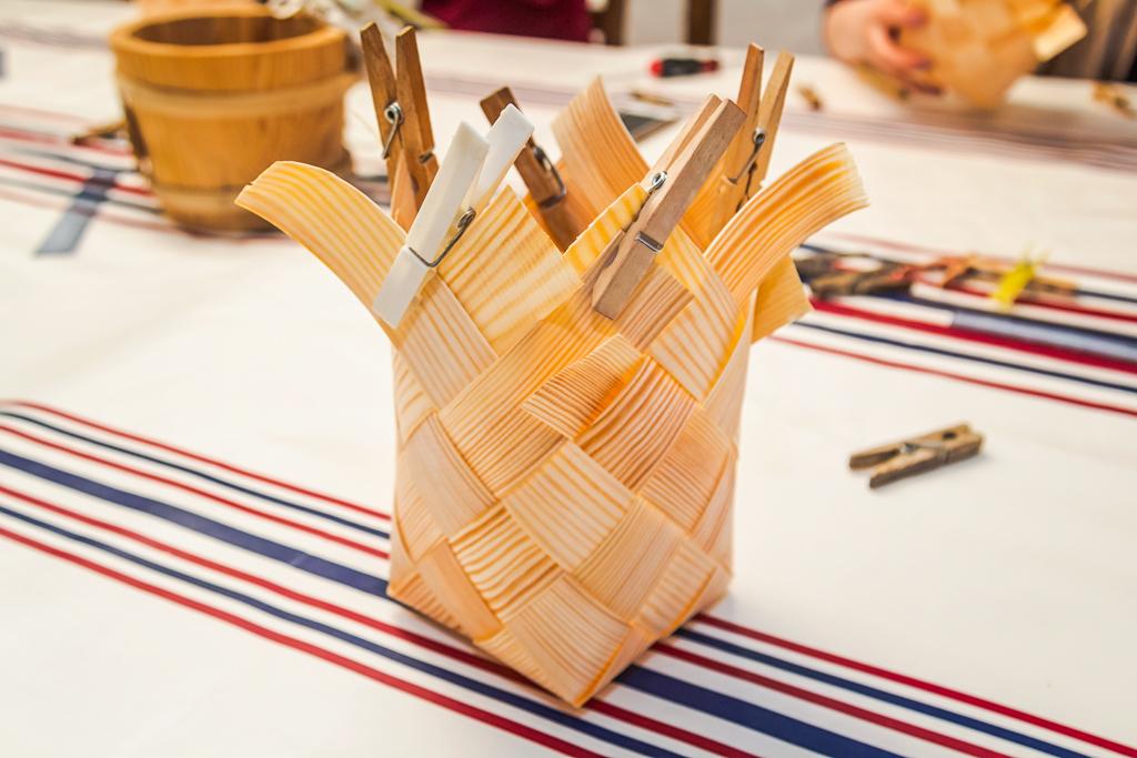 Плетение корзин из бересты собственными руками в Эстонии
