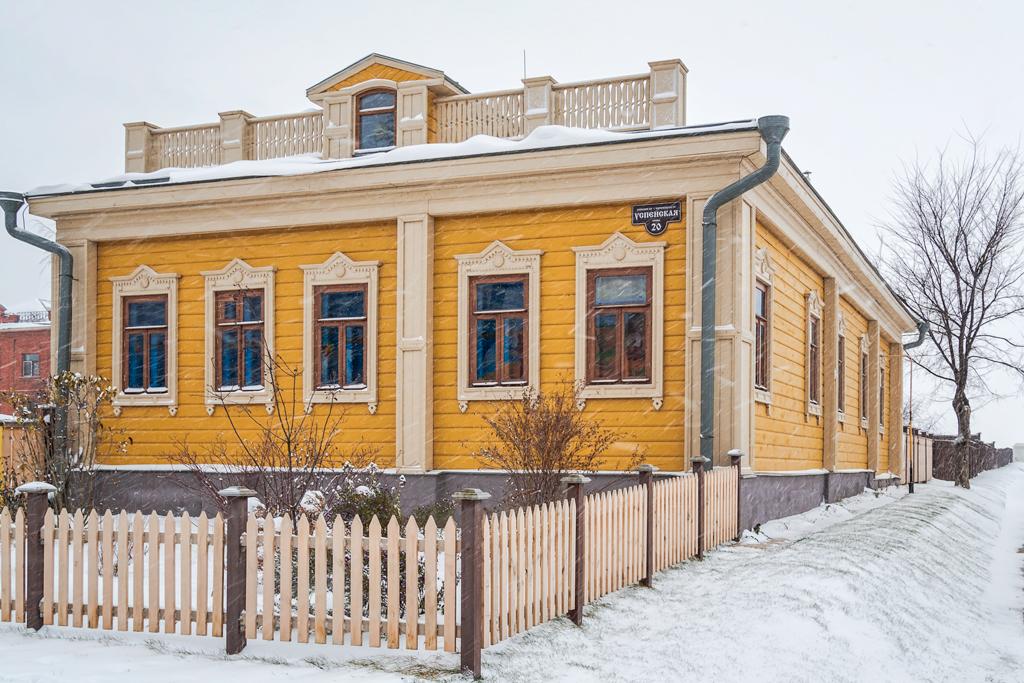 Красивый дом в Свияжске