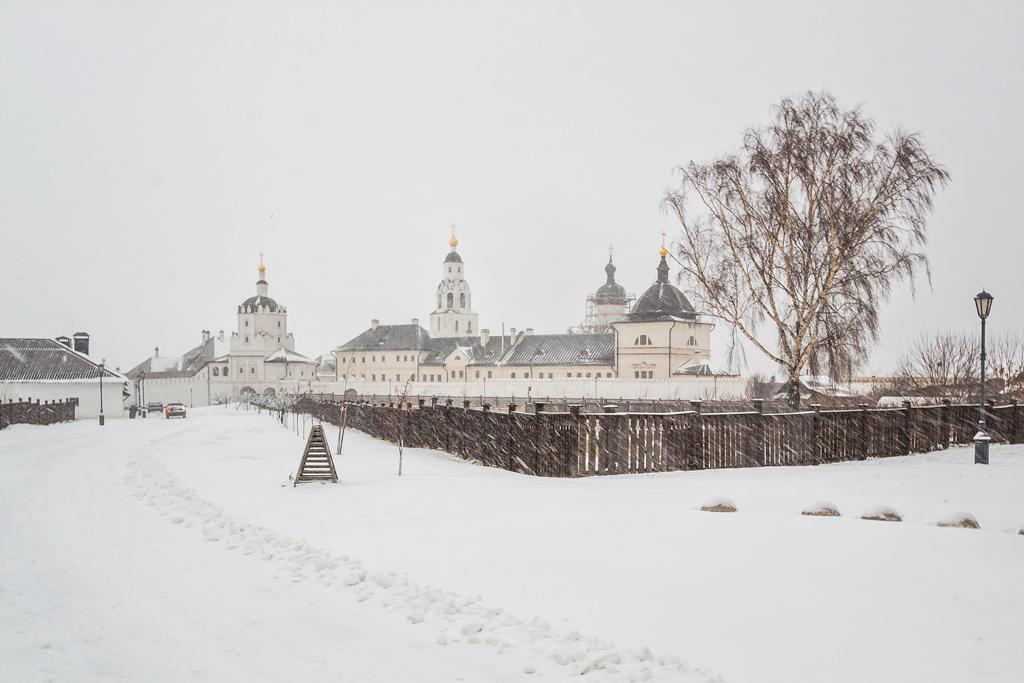 Остров-град Свияжск зимой
