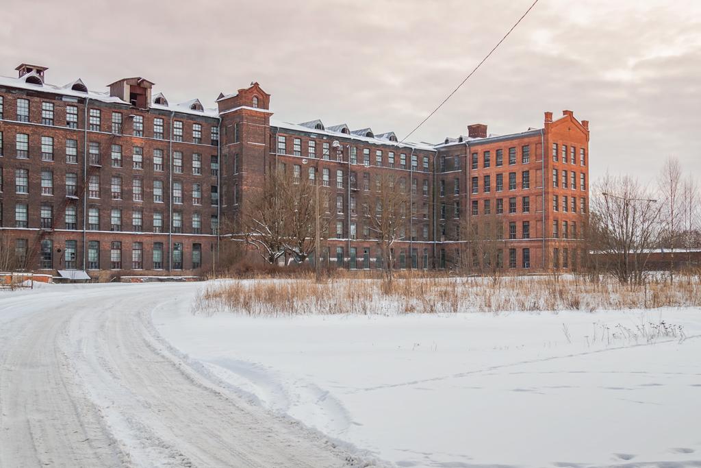 Корпус мануфактуры Кренгольм в Нарве, Эстония