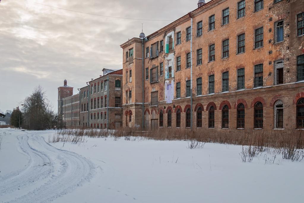 Заброшенный завод Кренгольм
