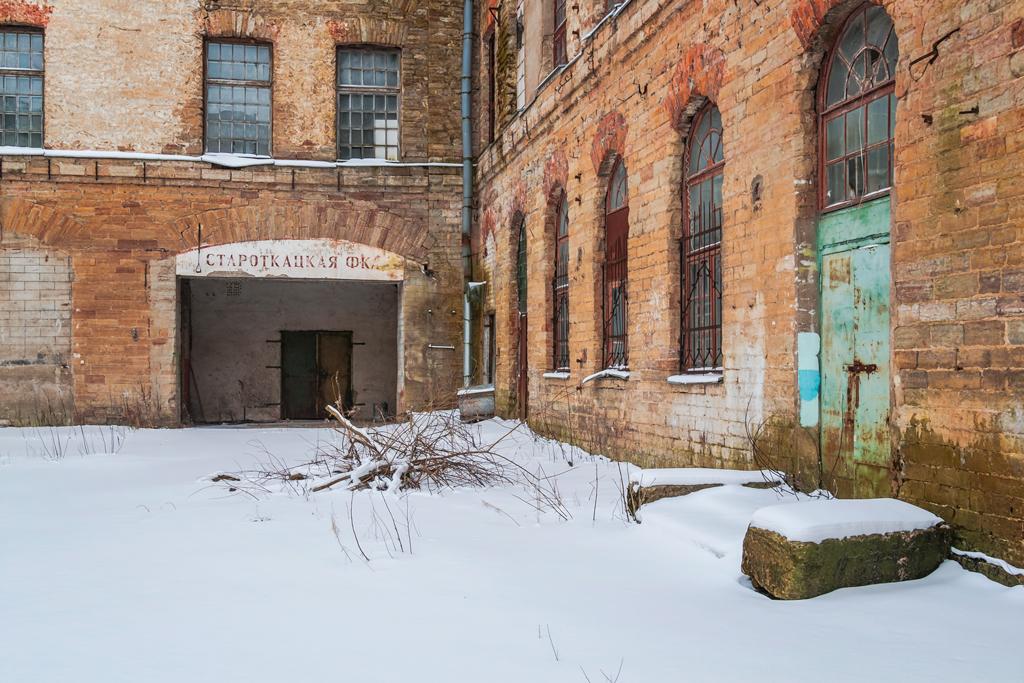 Заброшенная кренгольмская фабрика