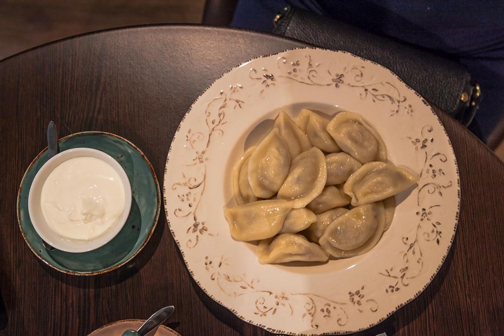 вареники в кафе Goneli Daily
