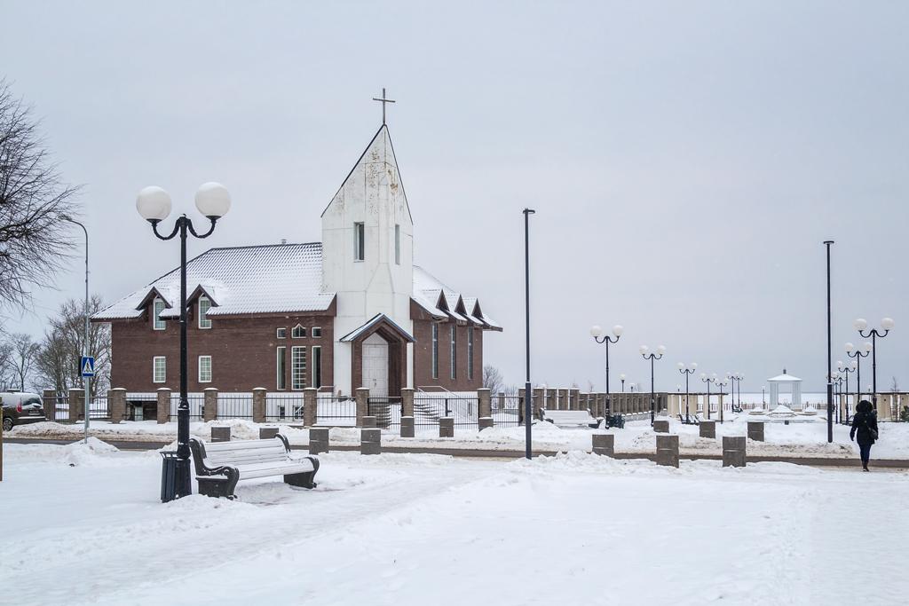 Католическая церковь в Силламяэ зимой