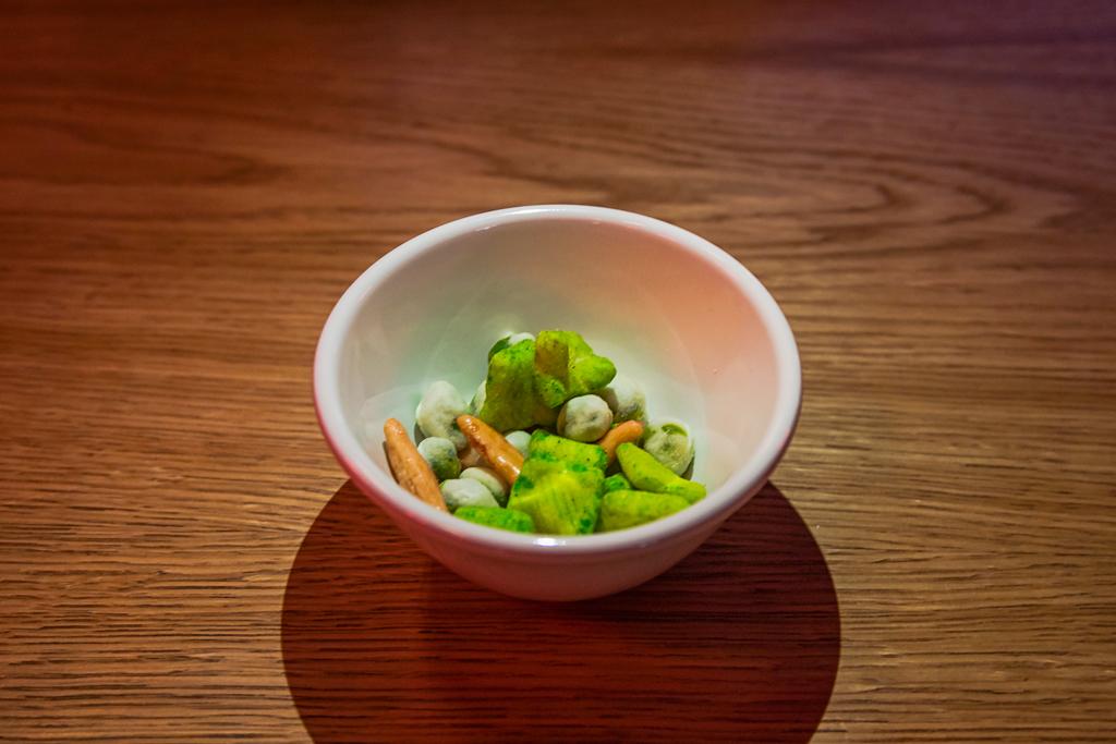 Фотография японских закусок в ресторане Umami на Боровой