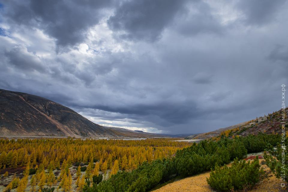 Осень в Магадане, Магаданская область, Хасынский район, Сентябрь, 2013, фото: Александр Крылов