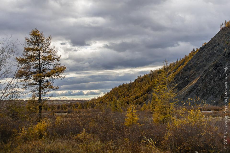Осень в Магадане