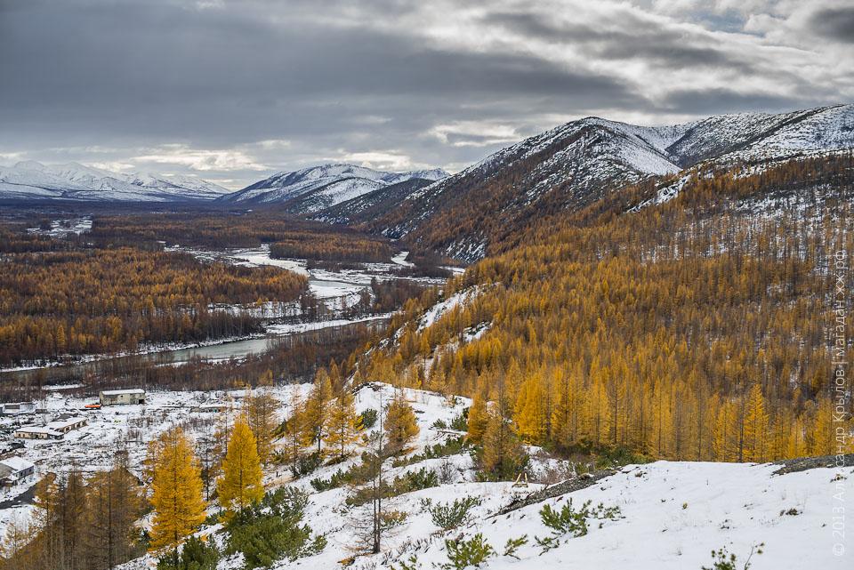 Колыма, Магаданская область, Тенькинский район, Усть-Омчуг, Детрин