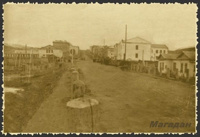 Колымское шоссе_Конец 40-х годов