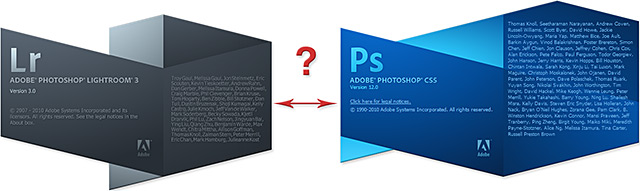 Lightroom → Photoshop