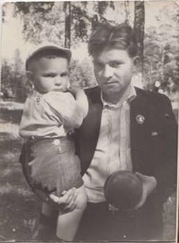 Галюга А.Н. с сыном Михаилом