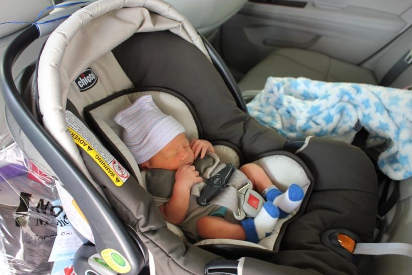 Ребенок и автокресло, залог