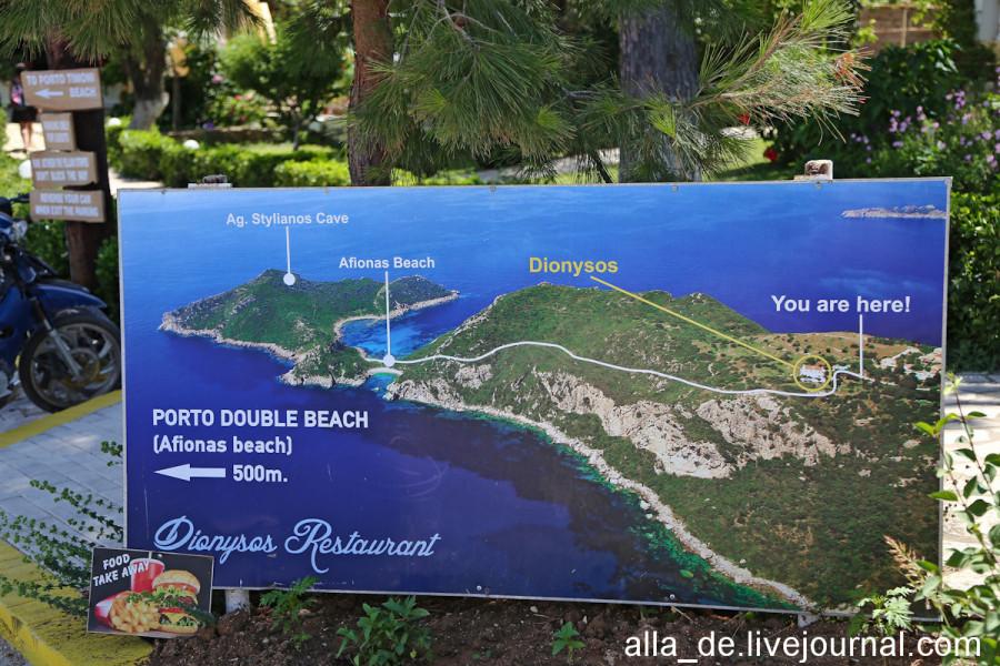 Пляжи Porto Timoni на острове Корфу