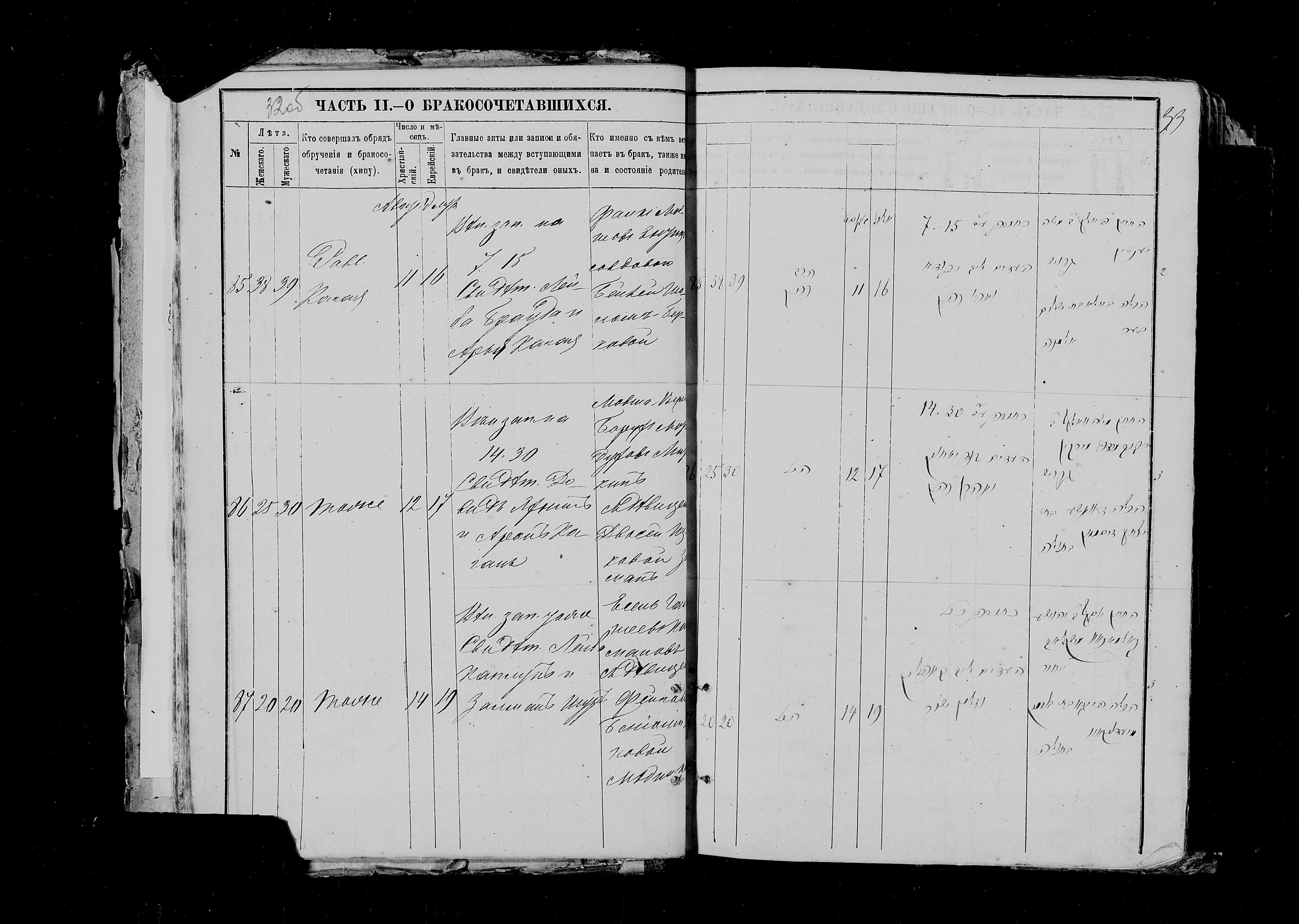 Мовша-Вульф Борух-Мордухович Миркин с Двосей Зисман 12 августа 1882, запись 86, пленка 007766484, снимок 290