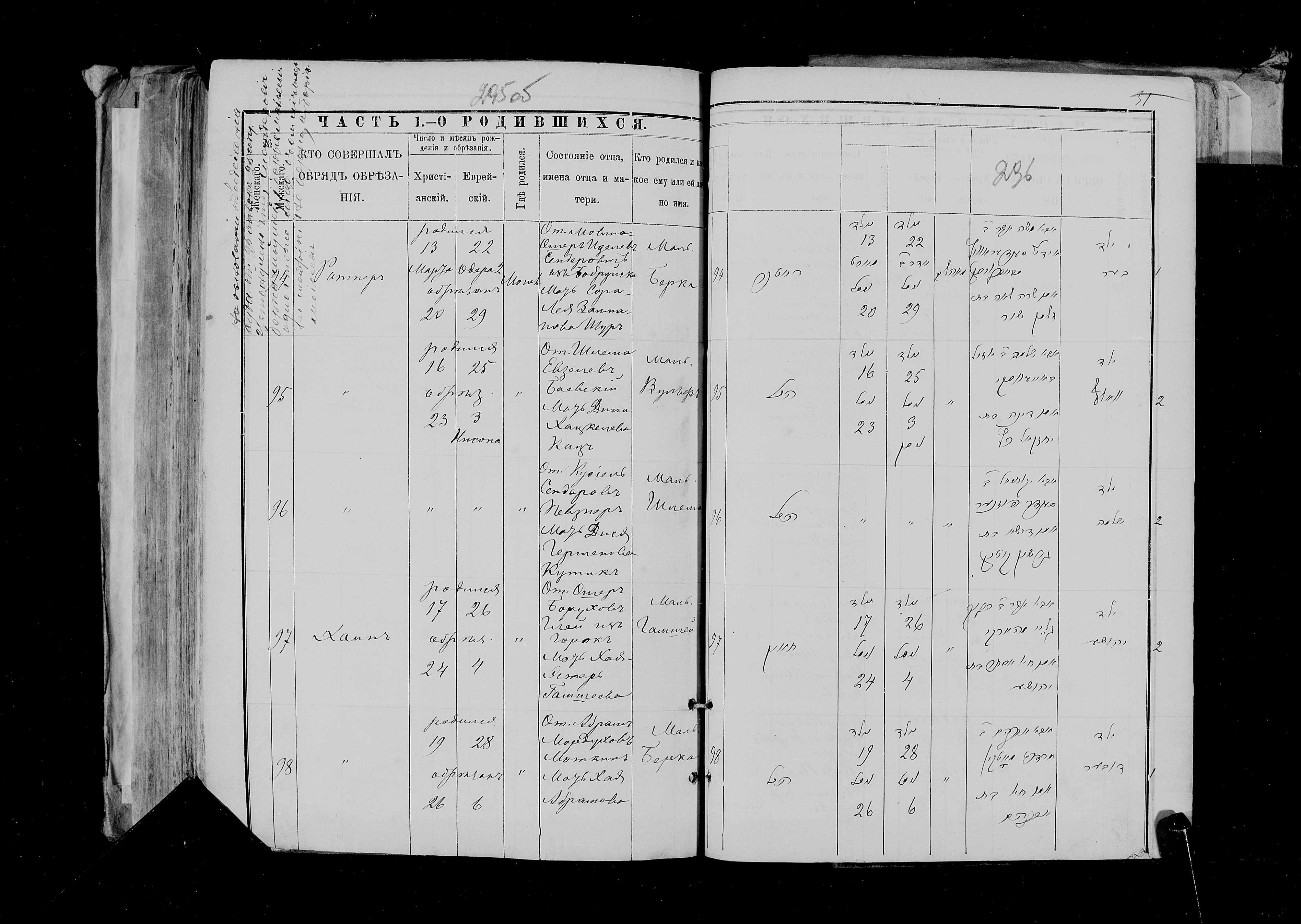Берка Шендерович 13 марта 1889, запись 94, пленка 007766484, снимок 144