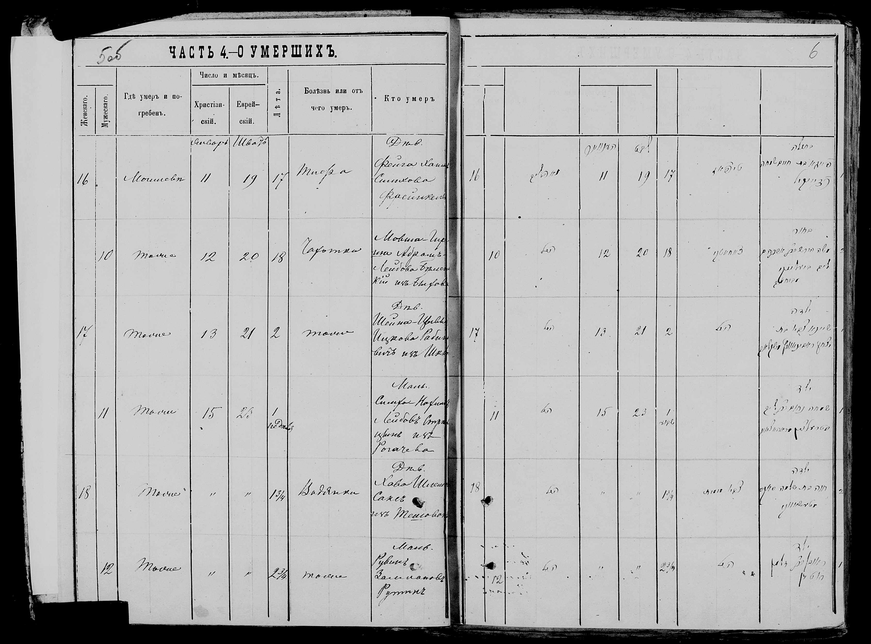 Нохим-Симха Лейбович Стрельцын ум. 15 января 1878, запись 11, пленка 007766481, снимок 120