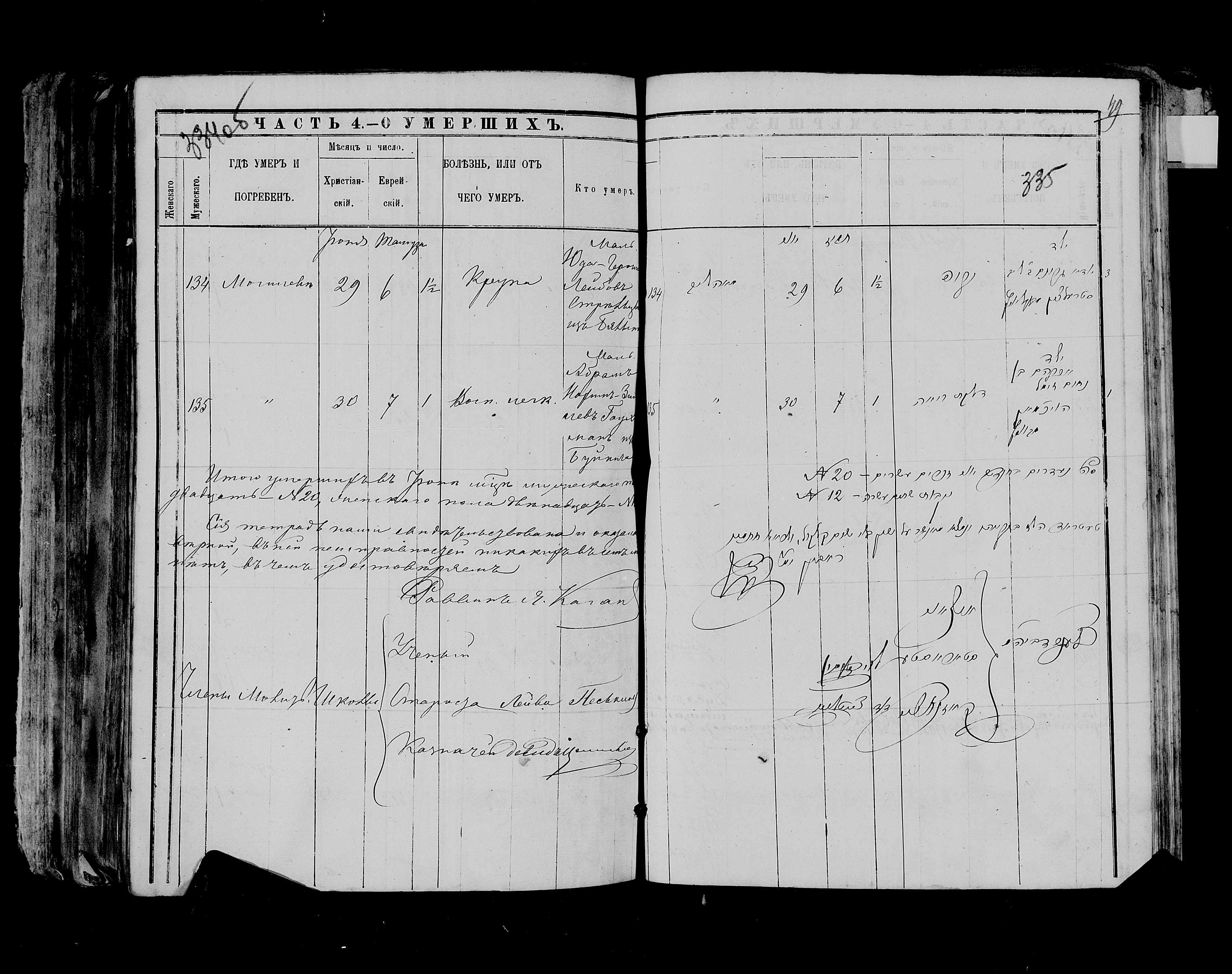 Юда-Гроним Лейбович Стрельцын 29 июня 1883, запись 134, пленка 007766483, снимок 62