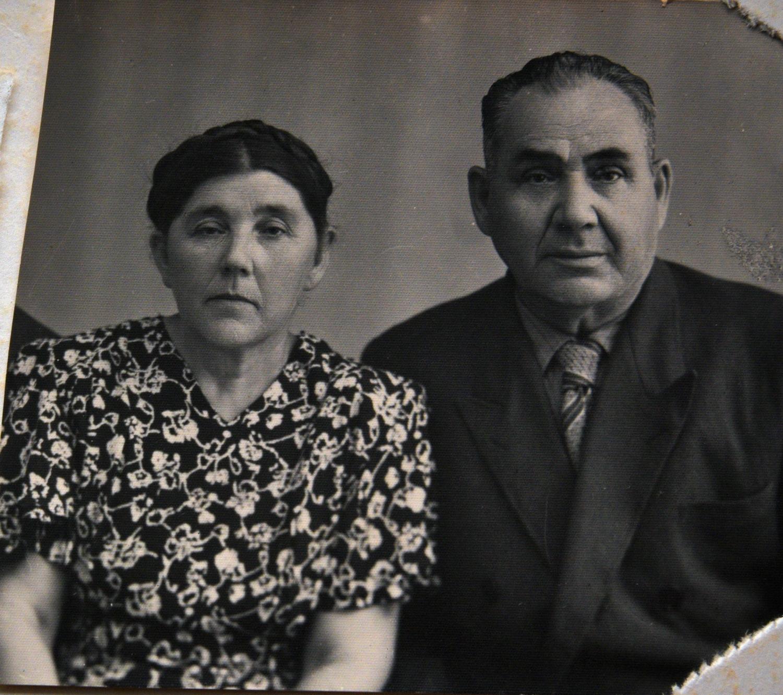 Брат и сестра матери Марии Стрельциной Рувим и Циля Плоткины_Могилев_1950-е