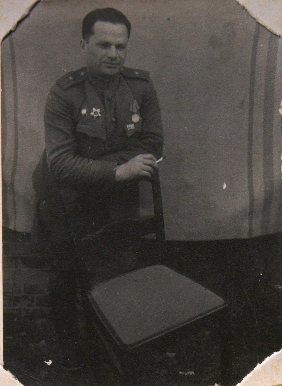 Рувим Шуб, брат отца Марии Стрельциной_около 1945