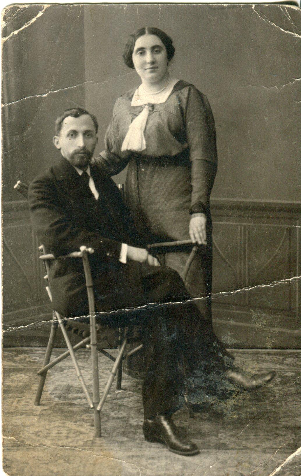 Boris&Khaia_4.05.1914