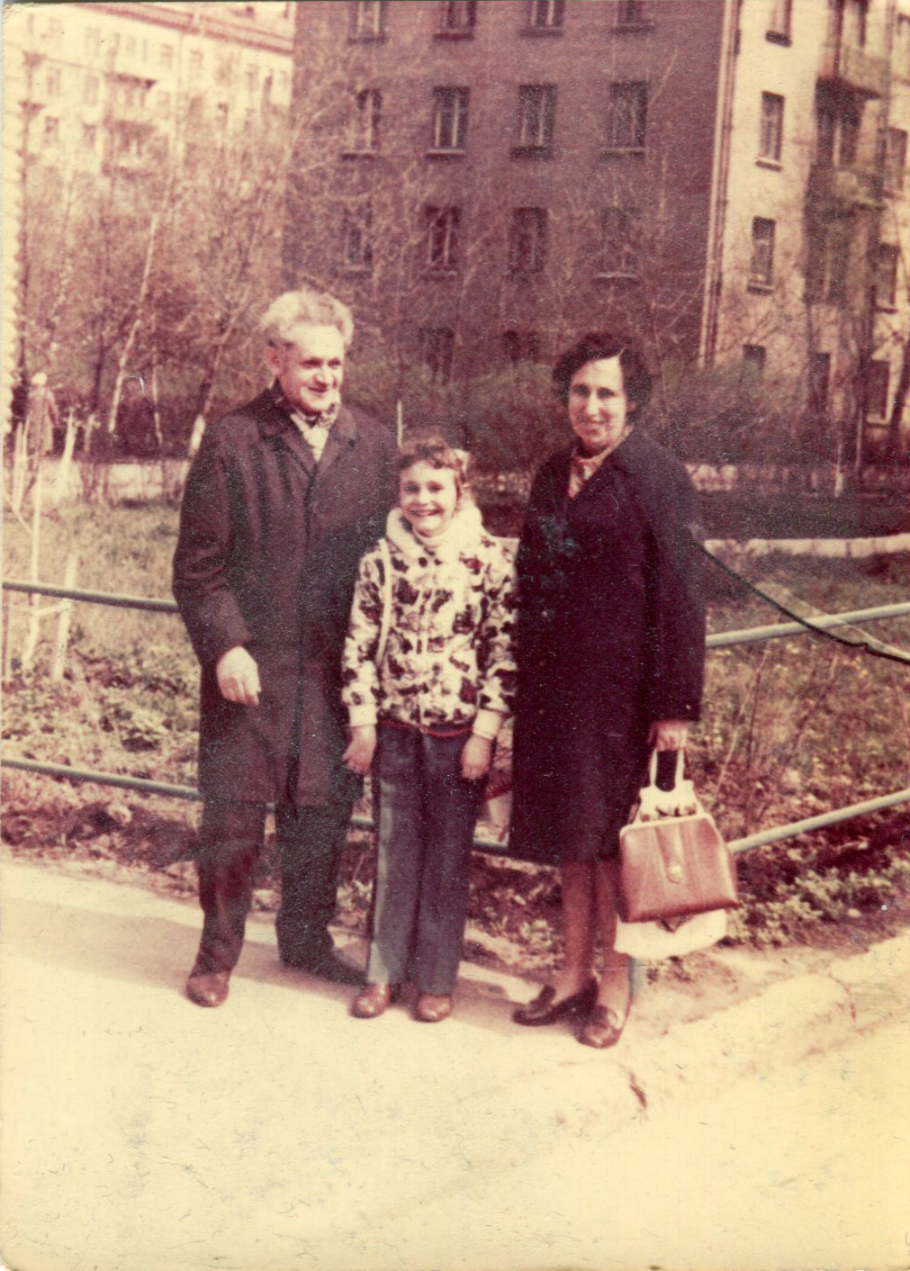 Mom, I and dad 1973001