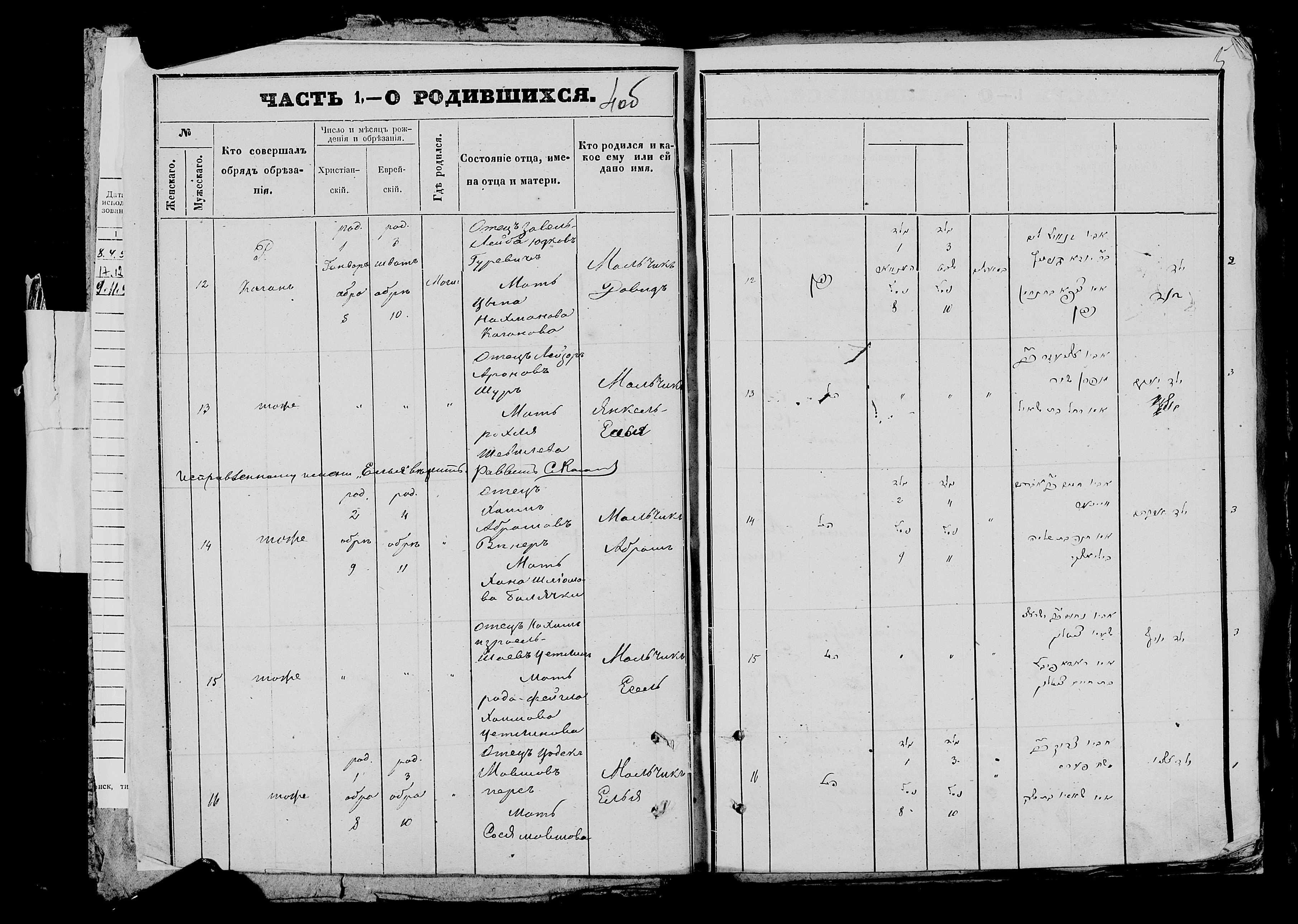 Янкель-Елья 1 января 1872, запись 13, пленка 007766480, снимок 727