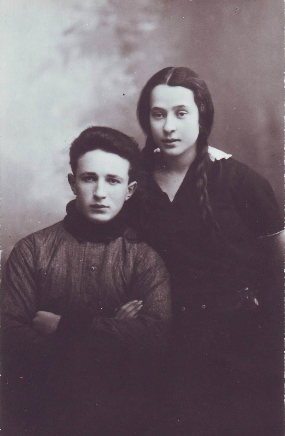 Hirsh and Riva Mirkin