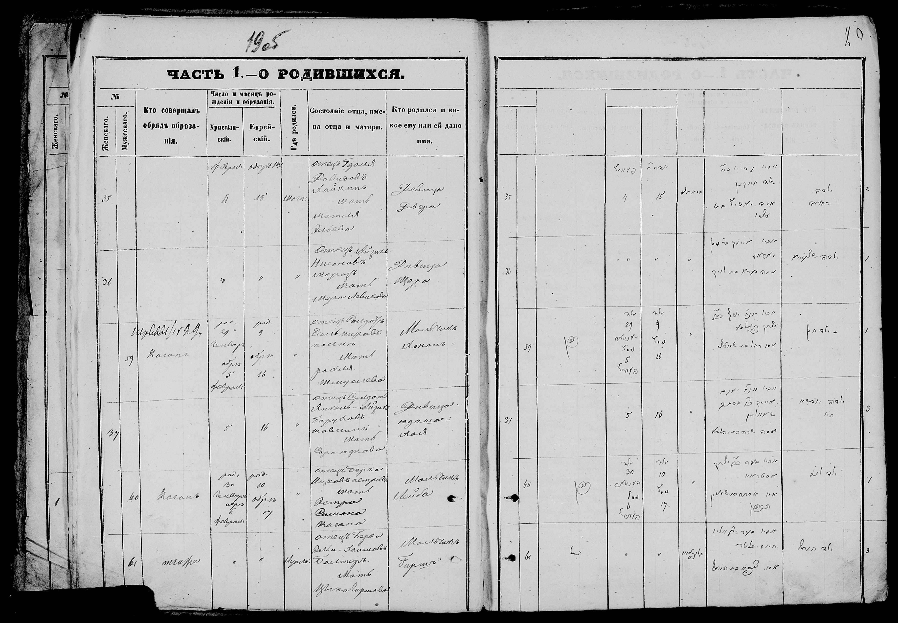 Лейба Беркович Остров 30 января 1870, запись 60, пленка 007766480, снимок 601