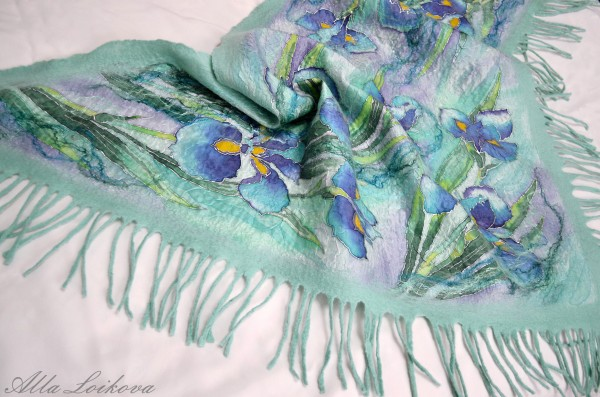Блузки Из Батика Теплый Ветер