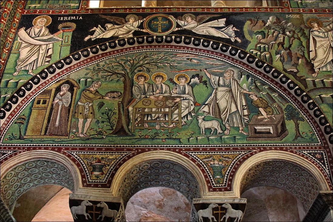 San vitale theodora mosaic