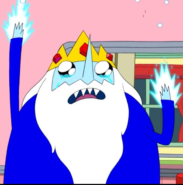 Ice King Sad