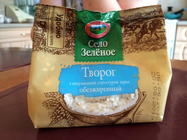 """Творог """"Село зеленое"""" от компании """"ИжМолоко"""""""