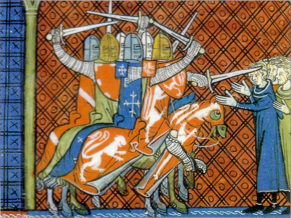 средневековая живопись: