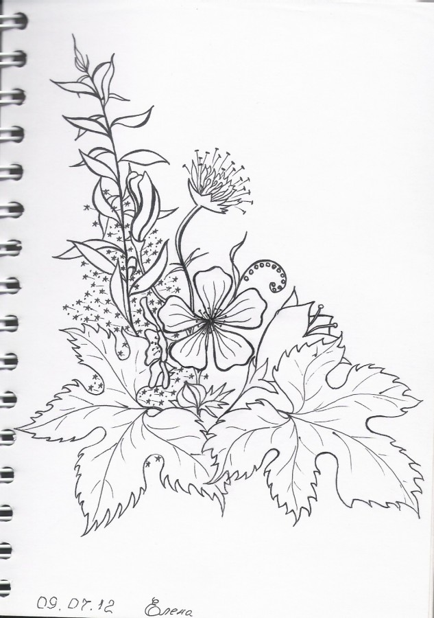 цветочки 2012