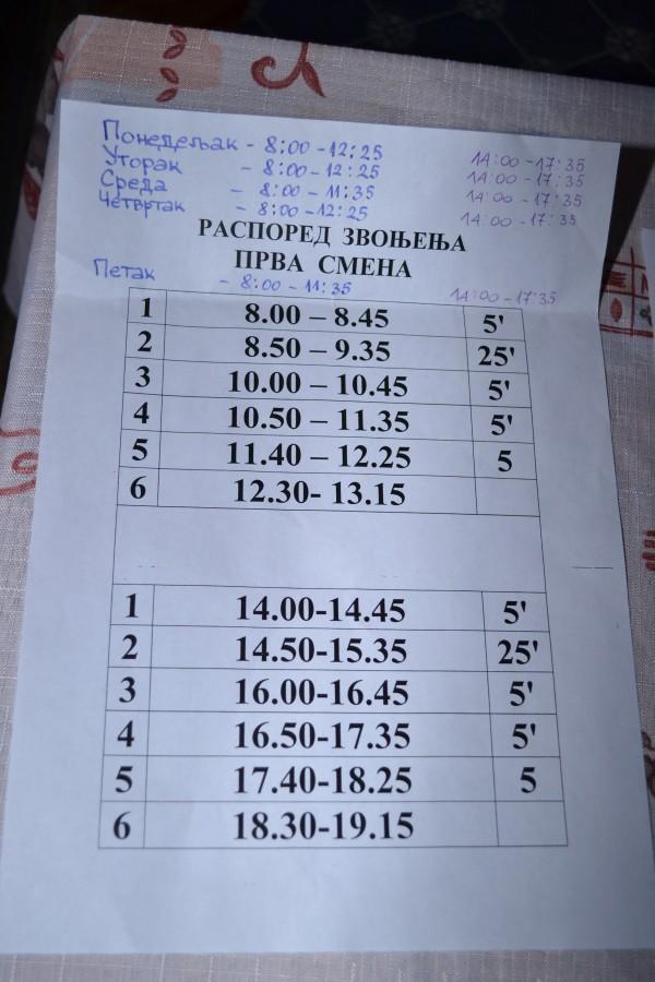 Програма Расписание Уроков В Школах Украины
