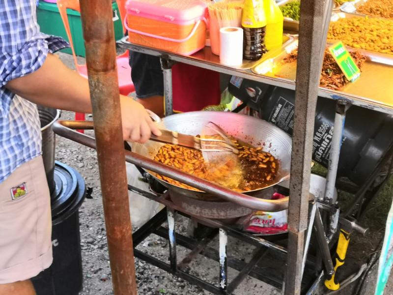 Тайский рынок.