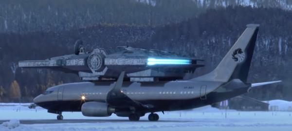 Сокол на Боинге 737