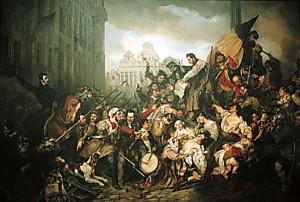 Первая в мире цветная революция в 1780 году в Лондоне