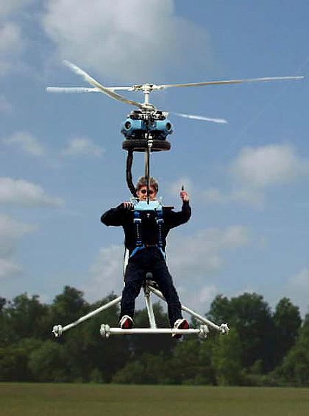 Самый маленький вертолет в мире GEN H-4