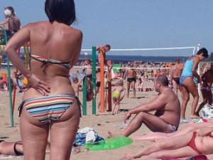 Российские туристы начали воевать с европейцами
